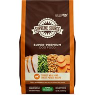 Supreme Source Turkey Meal & Sweet Potato Recipe Grain-Free Dry Dog Food, 22-lb bag