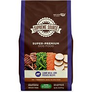 Supreme Source Lamb Meal & Potato Recipe Grain-Free Dry Dog Food, 22-lb bag