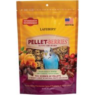 Lafeber Pellet-Berries Sunny Orchard Parakeet Bird Food, 10-oz bag