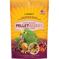 Lafeber Pellet-Berries Sunny Orchard Parrot Bird Food, 10-oz bag