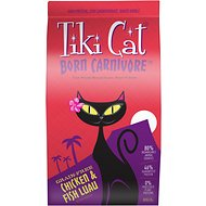 Tiki Cat Born Carnivore Chicken & Fish Luau Grain-Free Dry Cat Food, 11.1-lb bag