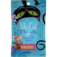 Tiki Cat Dash Mackerel Flakes Grain-Free Cat Food Topper, 2-oz pouch