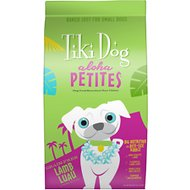 Tiki Dog Aloha Petites Lamb Luau Grain-Free Dry Dog Food, 10-lb bag