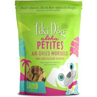 Tiki Dog Aloha Petites Air Dried Lamb Morsels Grain-Free Dog Treats, 5-oz bag