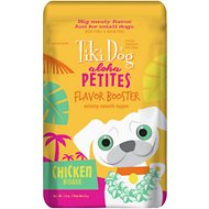 Tiki Dog Aloha Petites Flavor Booster Chicken Bisque Grain-Free Dog Food Topper, 1.5-oz pouch, case of 12