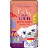 Tiki Dog Aloha Petites Flavor Booster Beef Bisque Grain-Free Dog Food Topper, 1.5-oz pouch, case of 12