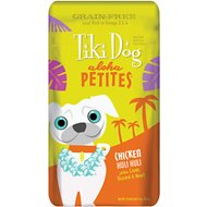 Tiki Dog Aloha Petites Chicken Huli Huli Grain-Free Dog Food, 3.5-oz pouch, case of 12