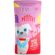 Tiki Dog Aloha Petites Chicken & Tuna North Shore Grain-Free Dog Food, 3.5-oz pouch, case of 12
