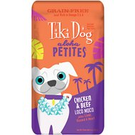 Tiki Dog Aloha Petites Chicken & Beef Loco Moco Grain-Free Dog Food, 3.5-oz pouch, case of 12