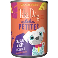 Tiki Dog Aloha Petites Chicken & Beef Loco Moco Grain-Free Dog Food, 9-oz can, case of 12