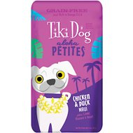 Tiki Dog Aloha Petites Chicken & Duck Maui Grain-Free Dog Food, 3.5-oz pouch, case of 12