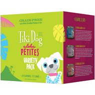 Tiki Dog Aloha Petites Variety Pack Grain-Free Canned Dog Food, 3.5-oz, case of 12