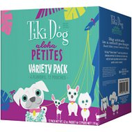 Tiki Dog Aloha Petites Variety Pack Grain-Free Wet Dog Food, 3.5-oz pouch, case of 12