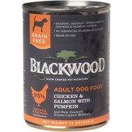 Blackwood Chicken & Salmon With Pumpkin Grain-Free Adult Canned Dog Food, 13-oz, case of 12