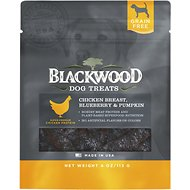 Blackwood Chicken Breast, Blueberry & Pumpkin Grain-Free Dog Treats, 4-oz bag