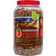 Adirondack Applezz N' Oats Horse Treats, 3-lb jar