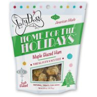 The Lazy Dog Cookie Co. Home For The Holidays Maple Glazed Ham Dog Treats, 5-oz bag