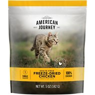 American Journey 100% Chicken Freeze-Dried Grain-Free Cat Treat, 5-oz bag