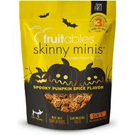 Fruitables Skinny Minis Pumpkin Spice Flavor Soft & Chewy Dog Treats, 5-oz bag