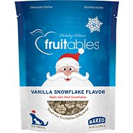 Fruitables Vanilla Snowflake Flavor Crunchy Dog Treats, 7-oz bag