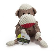 HuggleHounds Mr. Sock Monkey Knottie Dog Toy, Large