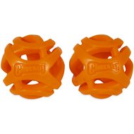 Chuckit! Breathe Right Fetch Ball 2-Pack Dog Toy, Medium