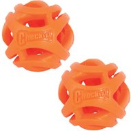 Chuckit! Breathe Right Fetch Ball 2-Pack Dog Toy, Small