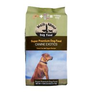 Walk About Canine Exotics Vegan Recipe Grain-Free Dry Dog Food, 7-lb bag
