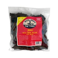 Walk About Wild Boar with Apple Jerky Grain-Free Dog Treats, 1.5-lb bag