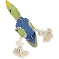 Fetch Pet Products Party Fowl Duck Canvas & Rope Dog Toy