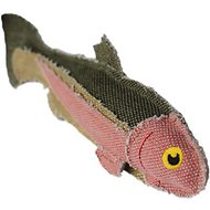 Fetch Pet Products Reely Fish Rainbow Trout Dog Toy