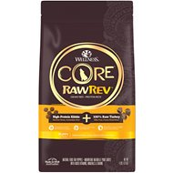 Wellness CORE RawRev Grain-Free Puppy Recipe with Freeze-Dried Turkey Dry Dog Food, 4-lb bag