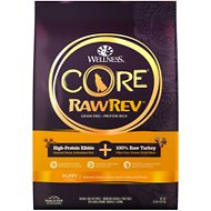 Wellness CORE RawRev Grain-Free Puppy Recipe with Freeze-Dried Turkey Dry Dog Food, 10-lb bag