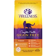 Wellness Complete Health Grain-Free Indoor Deboned Chicken Recipe Dry Cat Food, 2.25-lb bag