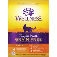 Wellness Complete Health Grain-Free Indoor Deboned Chicken Recipe Dry Cat Food, 11.5-lb bag