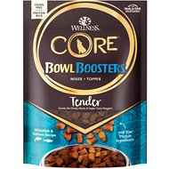 Wellness CORE Bowl Boosters Tender Whitefish & Salmon Recipe Air-Dried Dog Food Mixer or Topper, 8-oz bag