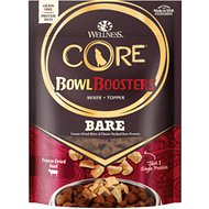 Wellness CORE Bowl Boosters Pure Beef Freeze-Dried Dog Food Mixer or Topper, 4-oz bag