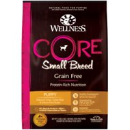 Wellness CORE Grain-Free Small Breed Puppy Deboned Turkey Recipe Dry Dog Food, 12-lb bag
