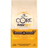 Wellness CORE RawRev Grain-Free Indoor Recipe with Freeze-Dried Turkey Liver Dry Cat Food, 4.5-lb bag