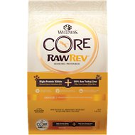 Wellness CORE RawRev Grain-Free Indoor Recipe with Freeze-Dried Turkey Liver Dry Cat Food, 10-lb bag