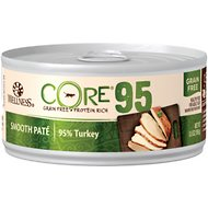 Wellness CORE 95% Turkey Grain-Free Canned Cat Food, 5.5-oz, case of 12