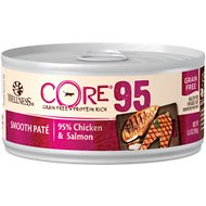 Wellness CORE 95% Chicken & Salmon Grain-Free Canned Cat Food, 5.5-oz, case of 12