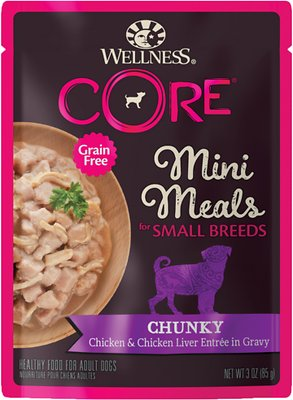 1. Wellness CORE Grain-Free Small Breed Mini Meals