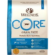Wellness CORE Grain-Free Indoor Salmon & Herring Meal Recipe Dry Cat Food, 11-lb bag