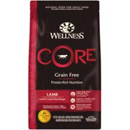 Wellness CORE Grain-Free Lamb Recipe Dry Dog Food, 4-lb bag