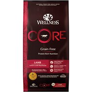 Wellness CORE Grain-Free Lamb Recipe Dry Dog Food, 22-lb bag