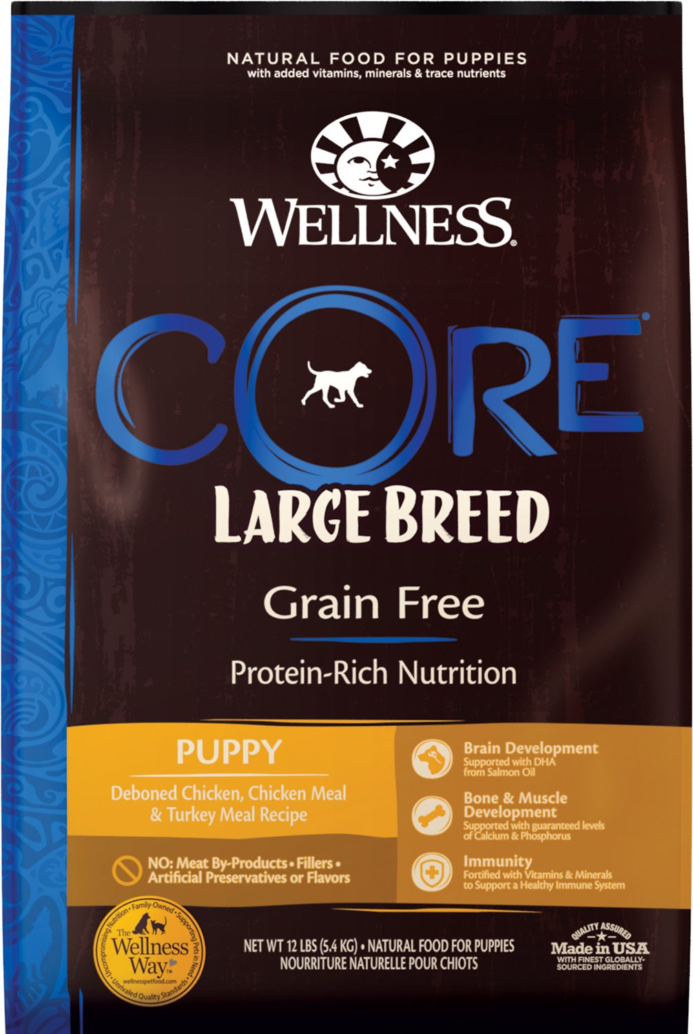 Wellness Core Grain Free Large Breed Puppy Deboned Chicken