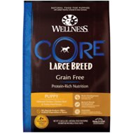 Wellness CORE Grain-Free Large Breed Puppy Deboned Chicken Recipe Dry Dog Food, 12-lb bag
