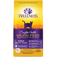 Wellness Complete Health Grain-Free Indoor Healthy Weight Chicken Recipe Dry Cat Food, 5.5-lb bag