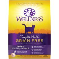 Wellness Complete Health Grain-Free Indoor Healthy Weight Chicken Recipe Dry Cat Food, 11.5-lb bag